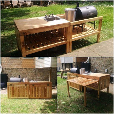 Diy outdoor kitchens on a budget kitchen pinterest backyard diy outdoor kitchens on a budget solutioingenieria Gallery