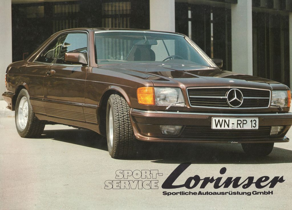Mercedes W126 Sec Lorinser With Images Mercedes W126