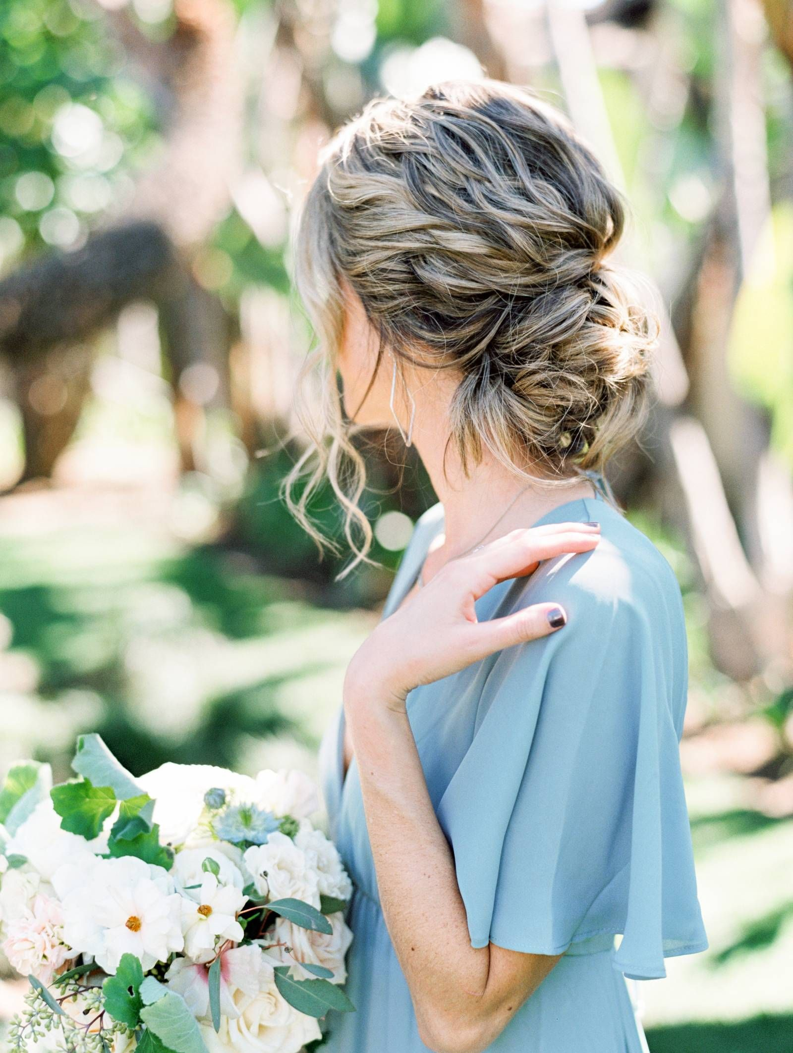 A Dreamy Al Fresco San Diego Garden Wedding In Pastel Shades San