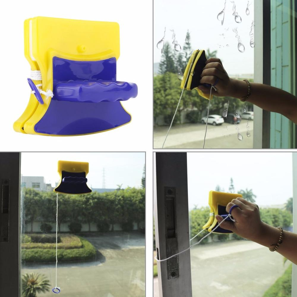 Magnetic Window Cleaner That Cleans Both Sides At The Same Time