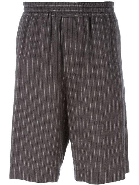 Msgm Striped shorts TeMSL