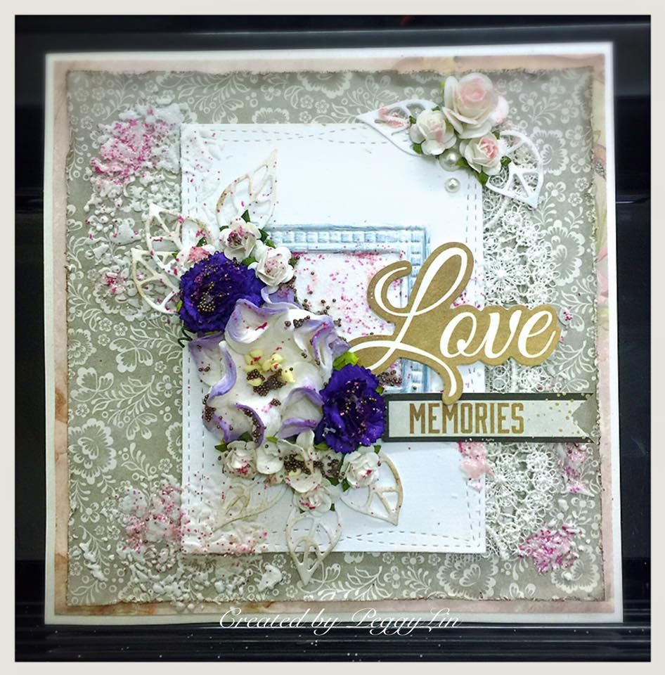 Shabby Chic Cards X