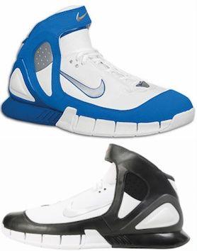 used Nike Air Zoom Huarache KOBE 2k5 Gray White Black Sz 14