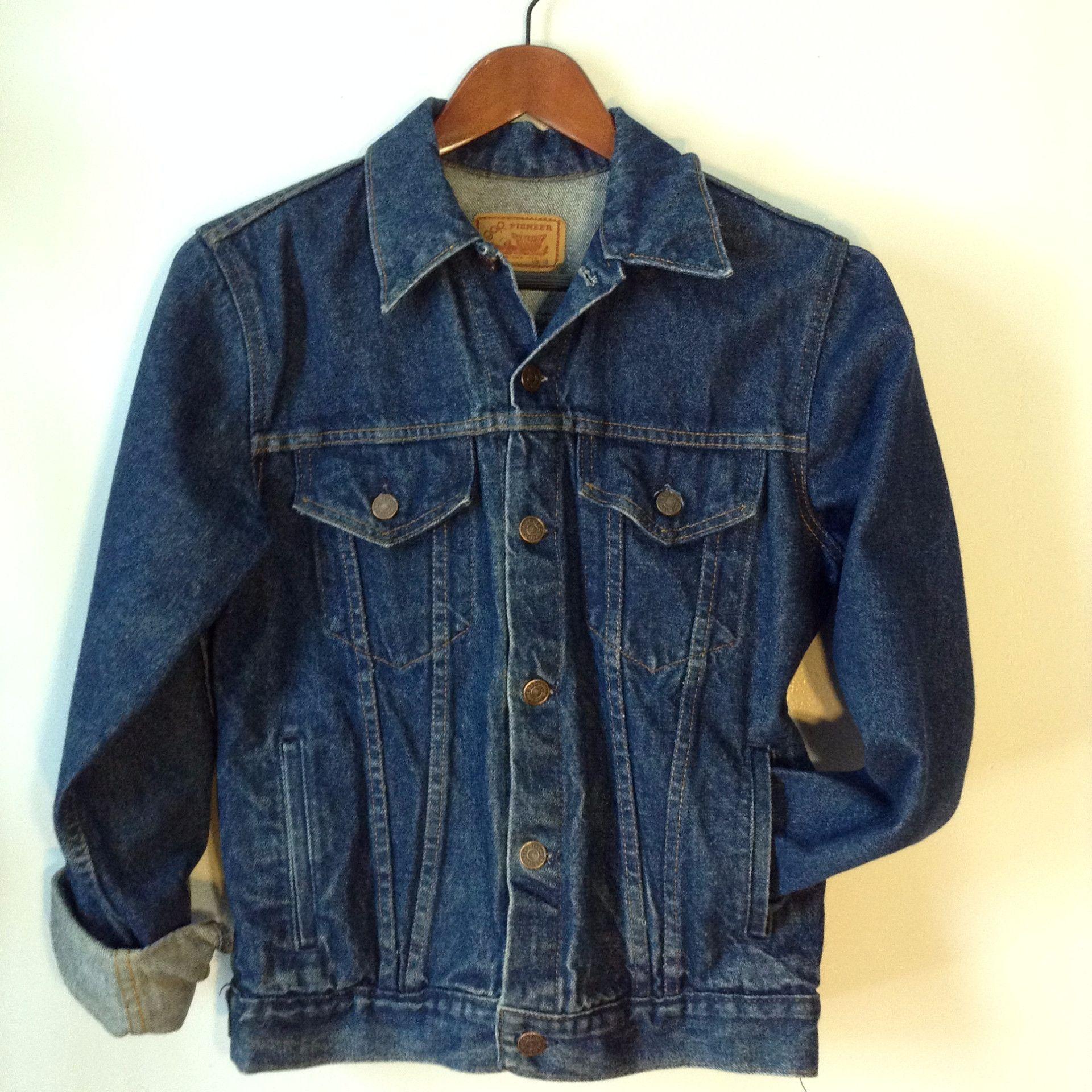 Vintage 90's Gap Denim Jacket L WLCzzS22
