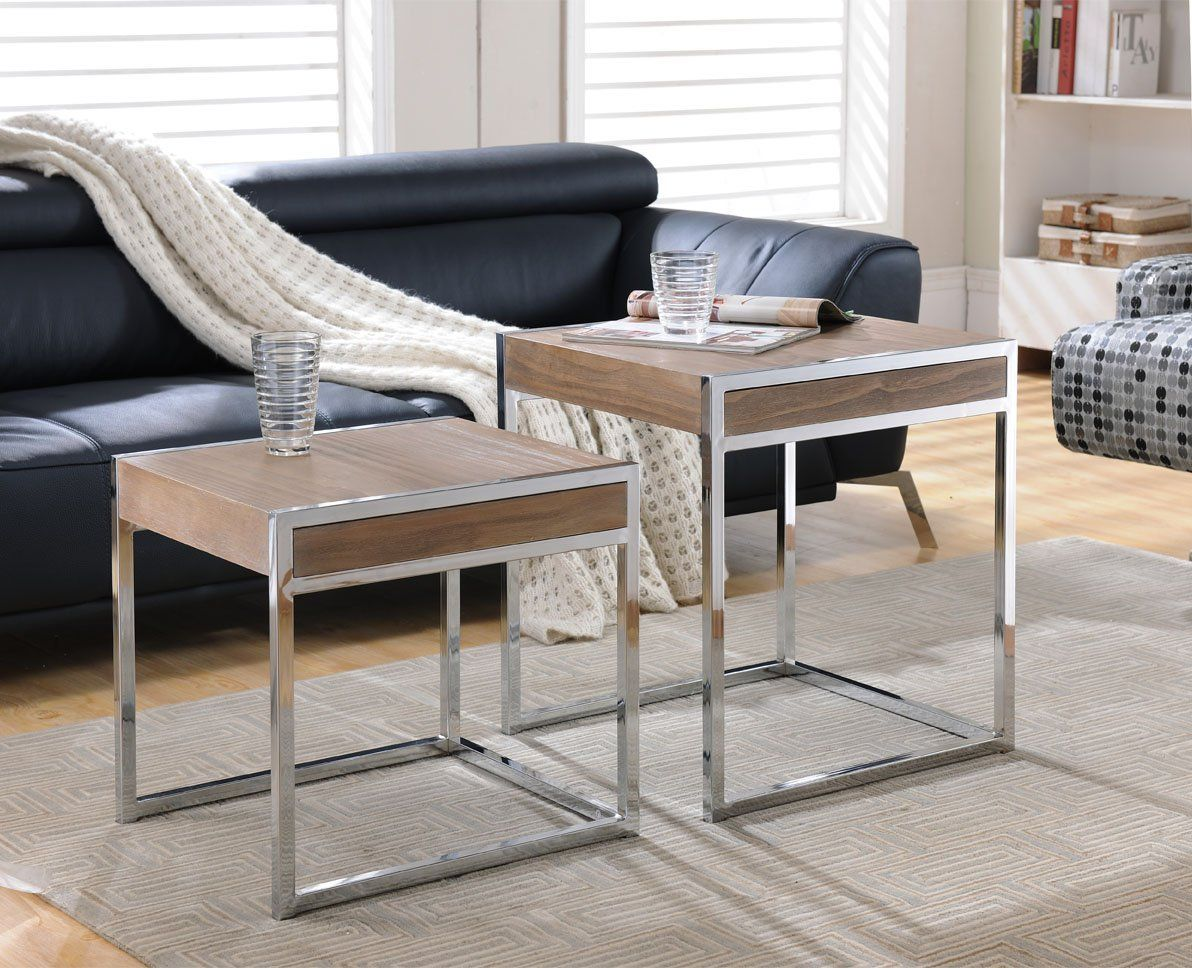 Robot Check Side Tables For Sale Nesting Tables Living Room Accent Side Table