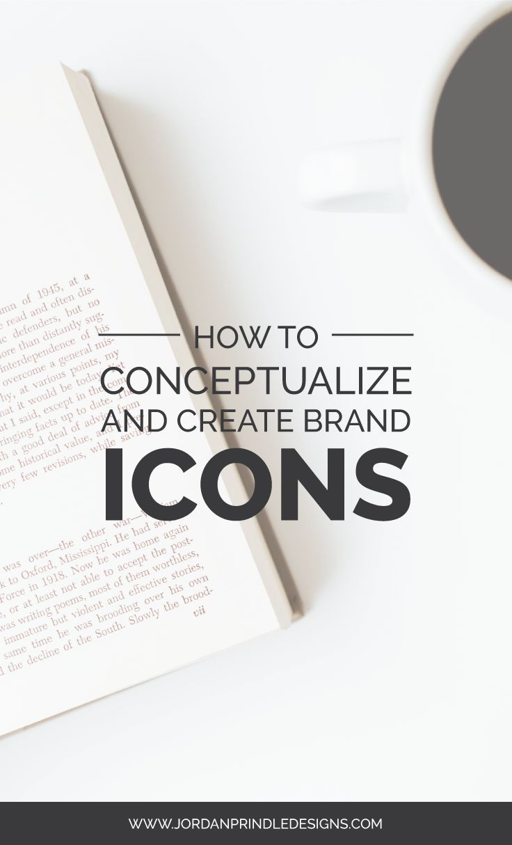 How to Conceptualize and Create Brand Icons | Icons, Business and ...