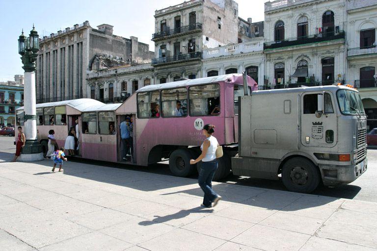 Famoso Camello Cuba Scenes Street View Cuba