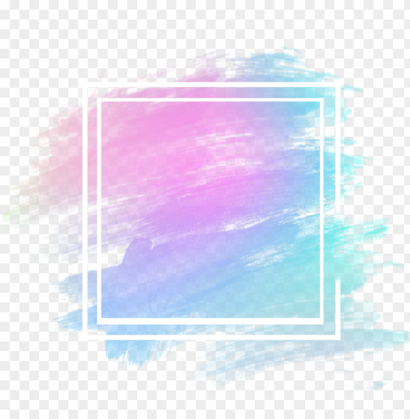 background blue purple pink watercolor aesthetic icon