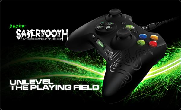 Razer Reveals Its New Sabretooth Xbox 360 Controller,