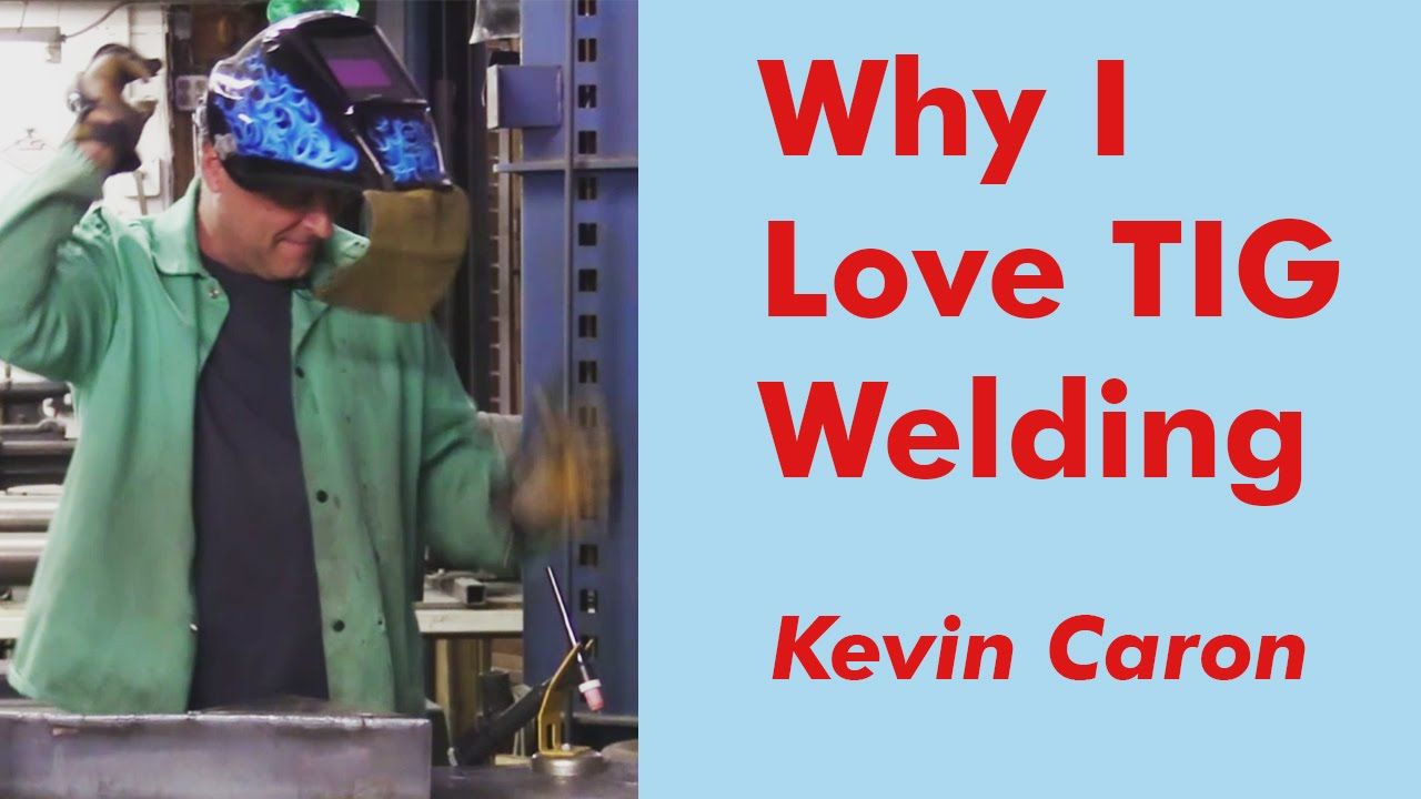 Artist Kevin Caron explains why TIG welding is his favorite type of welding in this popular video. Check it out!