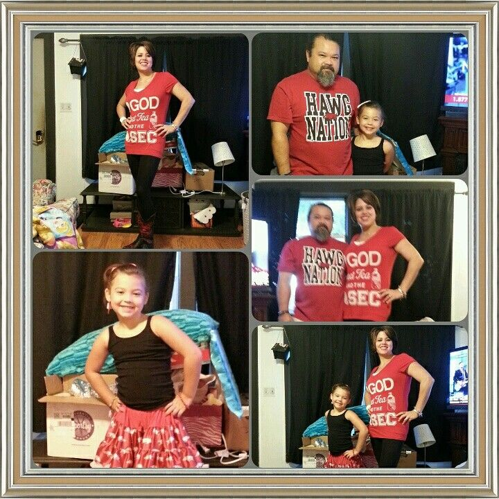 This is how my family shows their pride.  WPS!