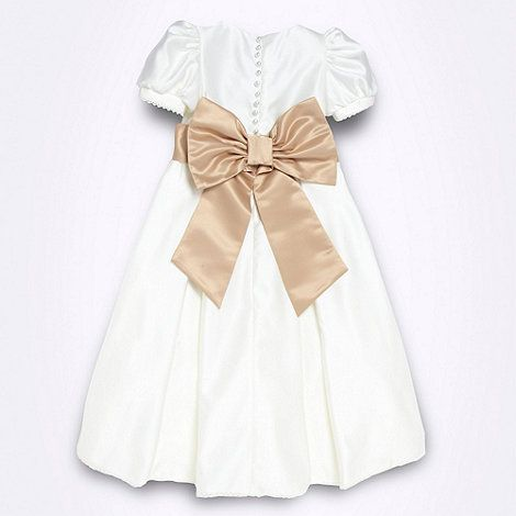 d11758f5c36 Back  Tigerlily Girl s ivory flower girl dress- at Debenhams.com ...