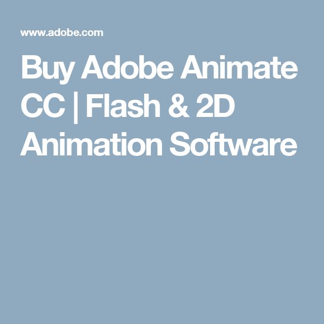 Buy Adobe Animate Cc Flash 2d Animation Software With Images 2d Animation Software Adobe Animate Animation
