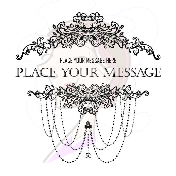 Chandelier Style French Ornate Frame - Leaf-Borders Clipart, part ...