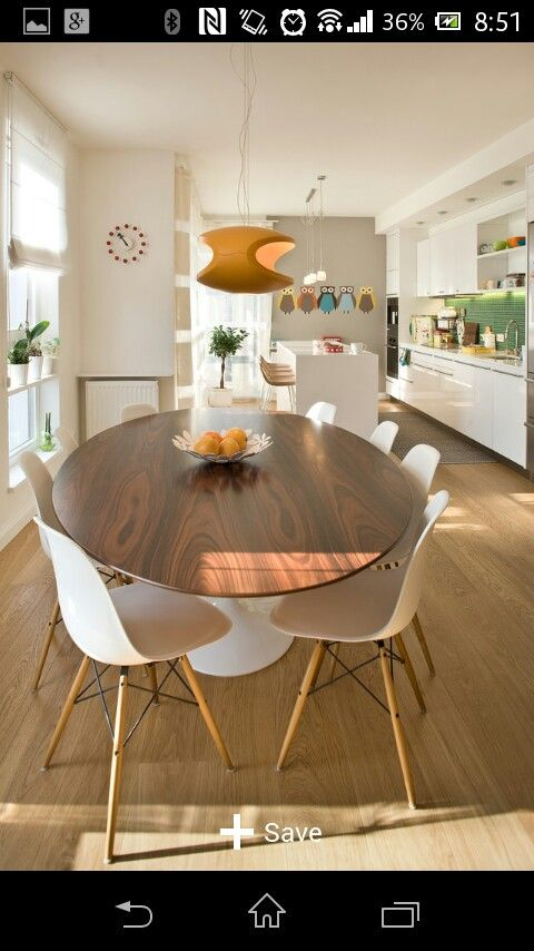 Houzz Comedor Midcentury Modern Dining Table Modern Dining Room
