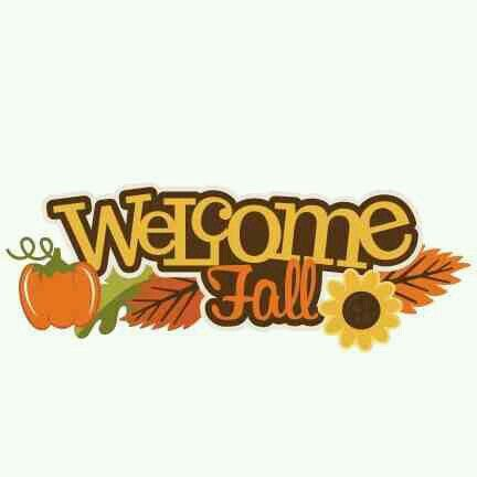 Image result for welcome fall clipart