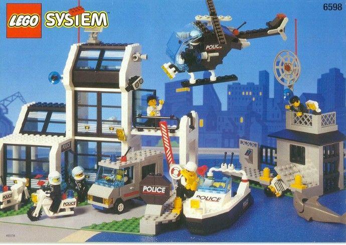 6598 1 Metro Pd Station Best Lego Sets Lego Police Lego Sets