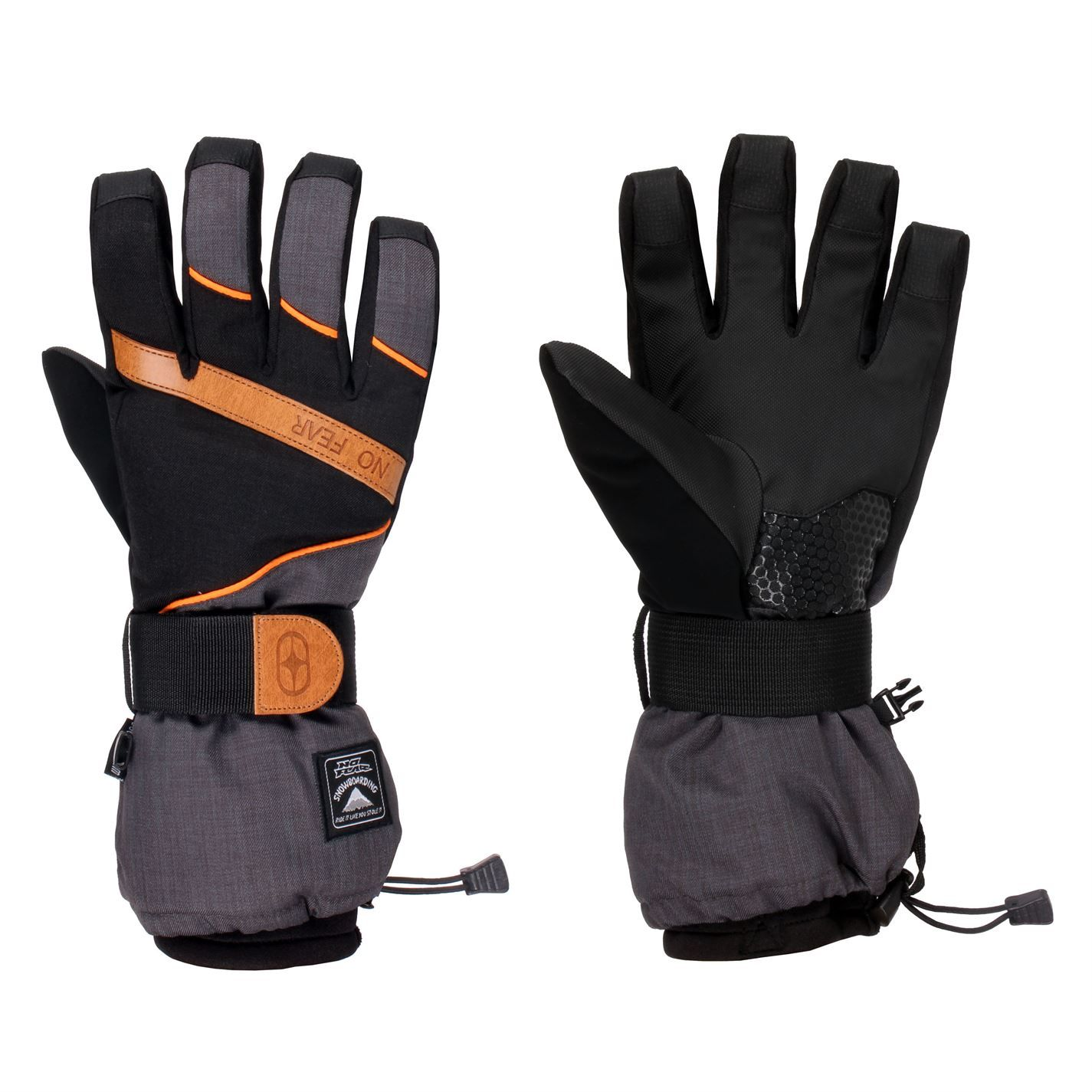 Mens gloves sports direct - No Fear Boost Ski Glvsn61 Sportsdirect Com
