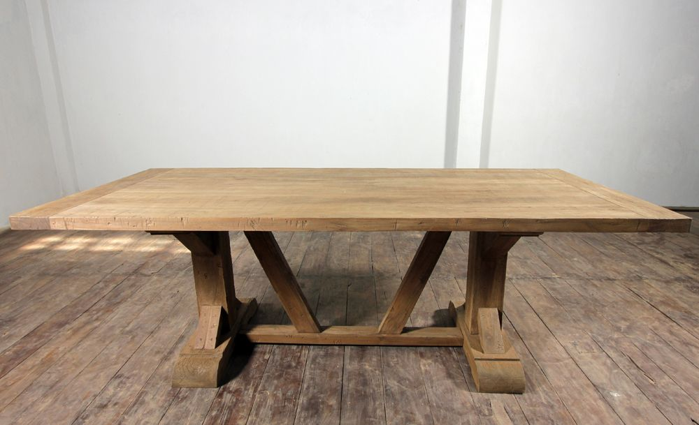 Salvage Teak Distressed Dining Table  Tables  Pinterest  Teak Gorgeous Teak Dining Room Furniture Design Ideas