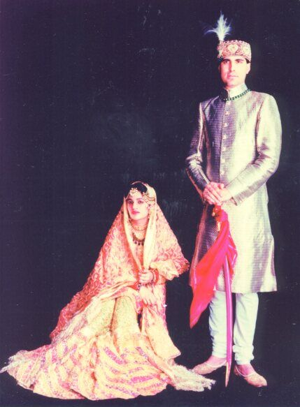 Badshah and Begum from the Royal House of Rampur