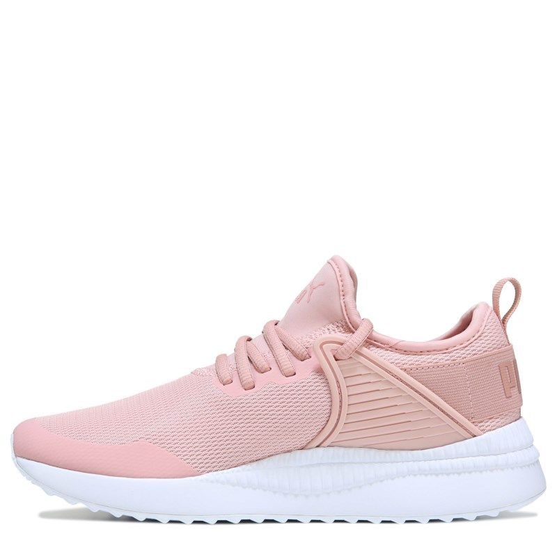 032bfb41518f Puma Women s Pacer Next Cage Sneakers (Blush White)