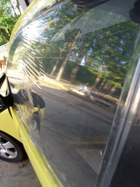 Temporarily Cover Car Windows With Shrink Wrap Car Window Repair
