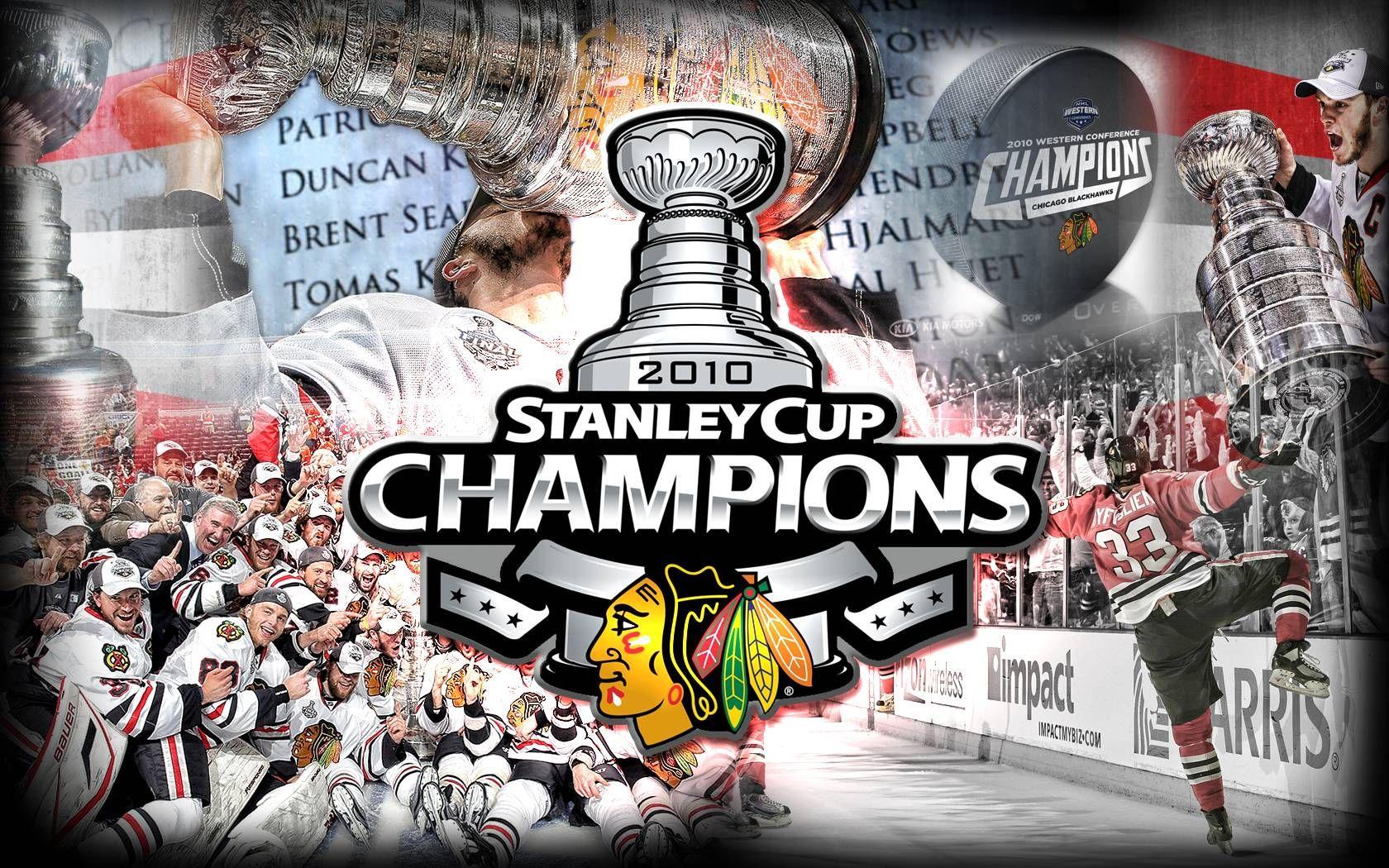 Chicago Blackhawks Championship Wallpaper