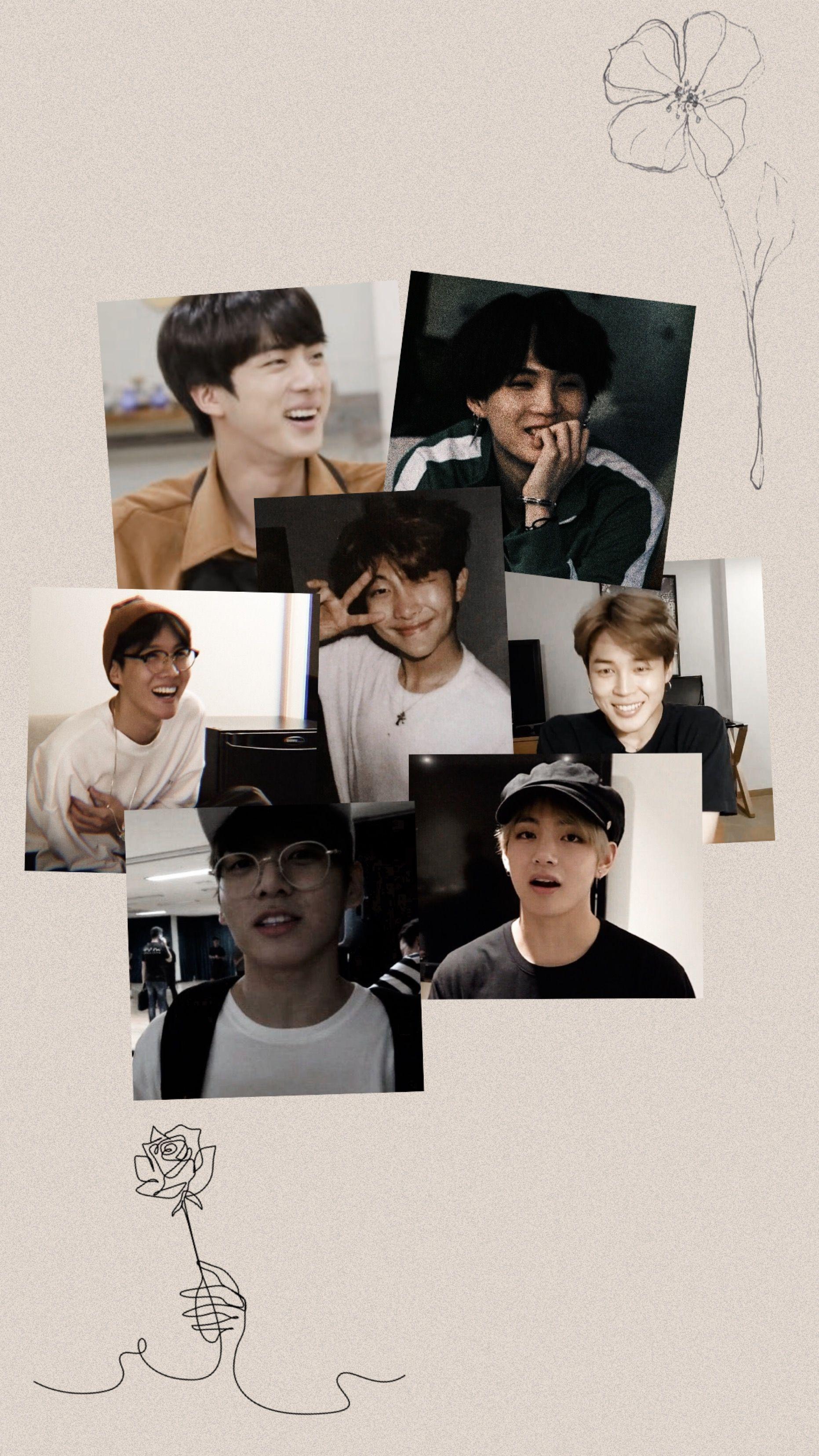 Lock Screen Korean Wallpaper Iphone Simple Aesthetic Aesthetic Backgrounds Kpop Wallpaper Aesthetic wallpaper of bts