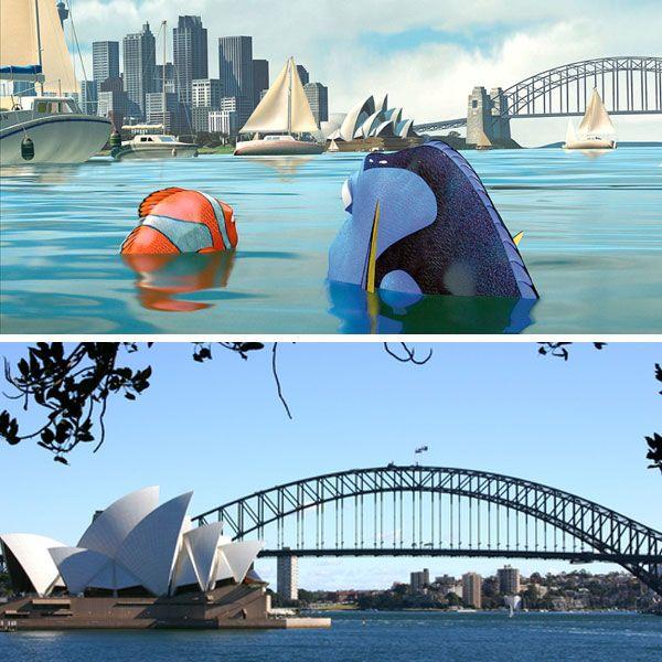 Acht Leuke Bestemmingen Uit Beroemde Disney Films Finding Nemo