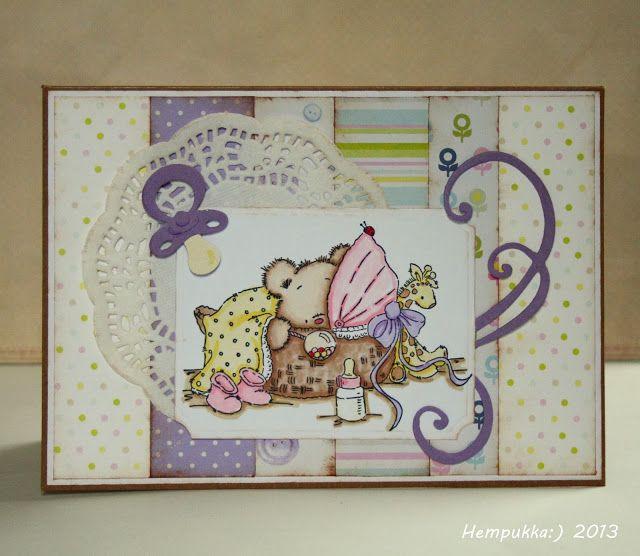 LOTV, baby girl card