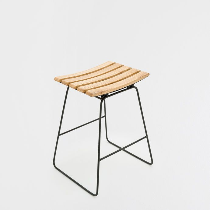 high stool w/ wooden seat ($89) | Henry Street | Pinterest | Cocinas