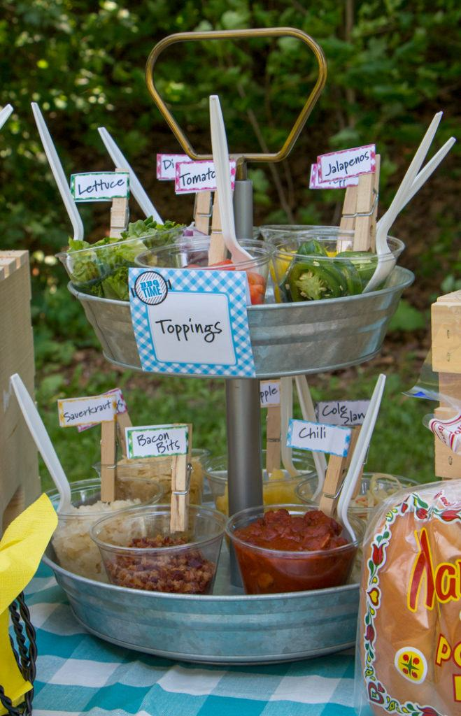 Cookout Party Series: Hot Dog Toppings Bar | Blog | Martin's Potato Rolls