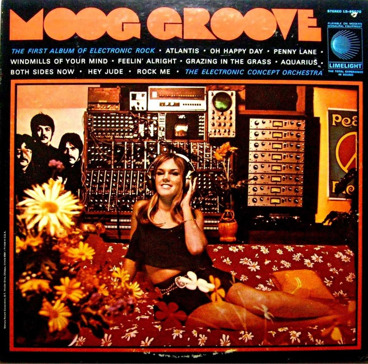 The Electronic Concept Orchestra Moog Groove Limelight Records 1969 One Of Many Records To Come Out Vinyl Music Greatest Album Covers Worst Album Covers