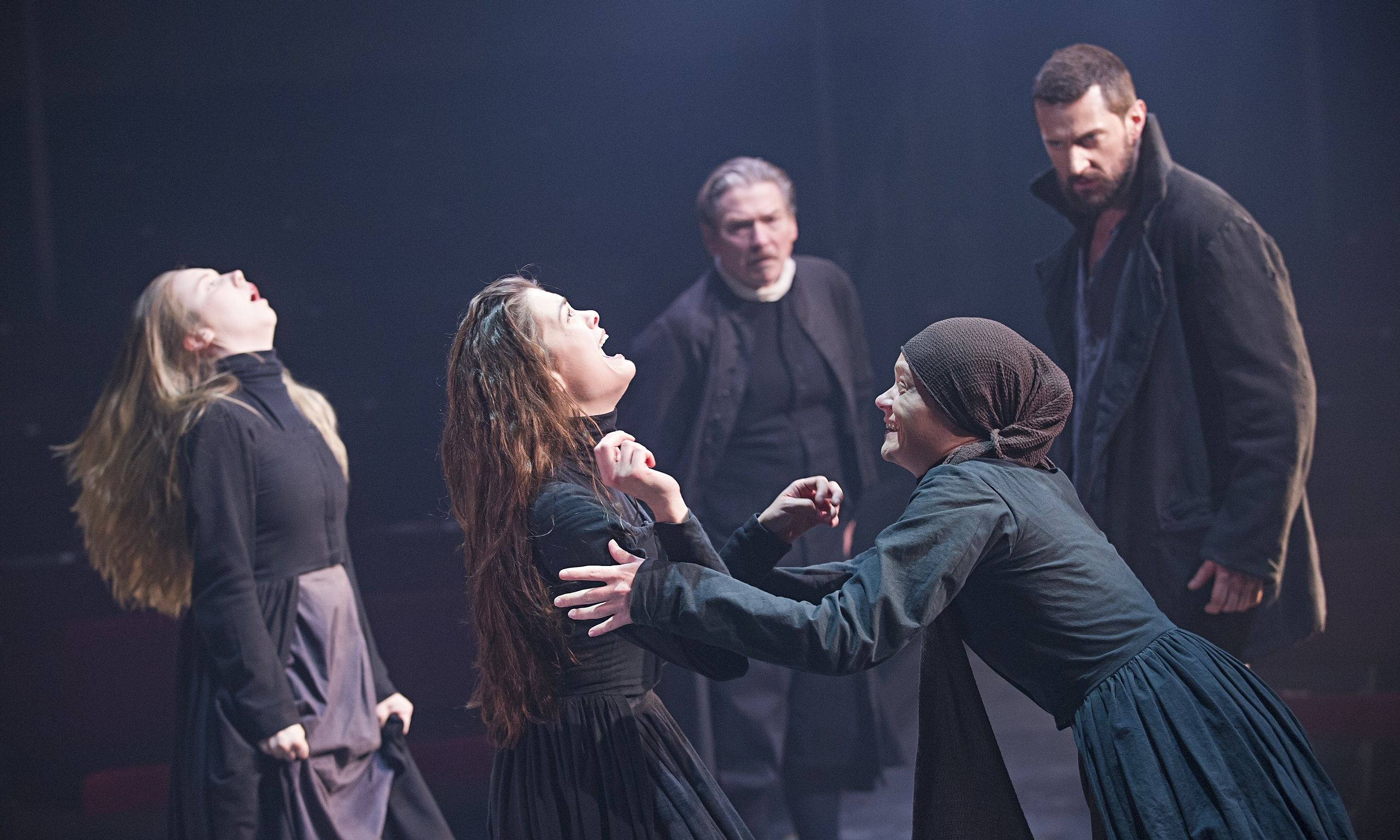 The Crucible review – hysteria, horror and dark humour in Miller's classic