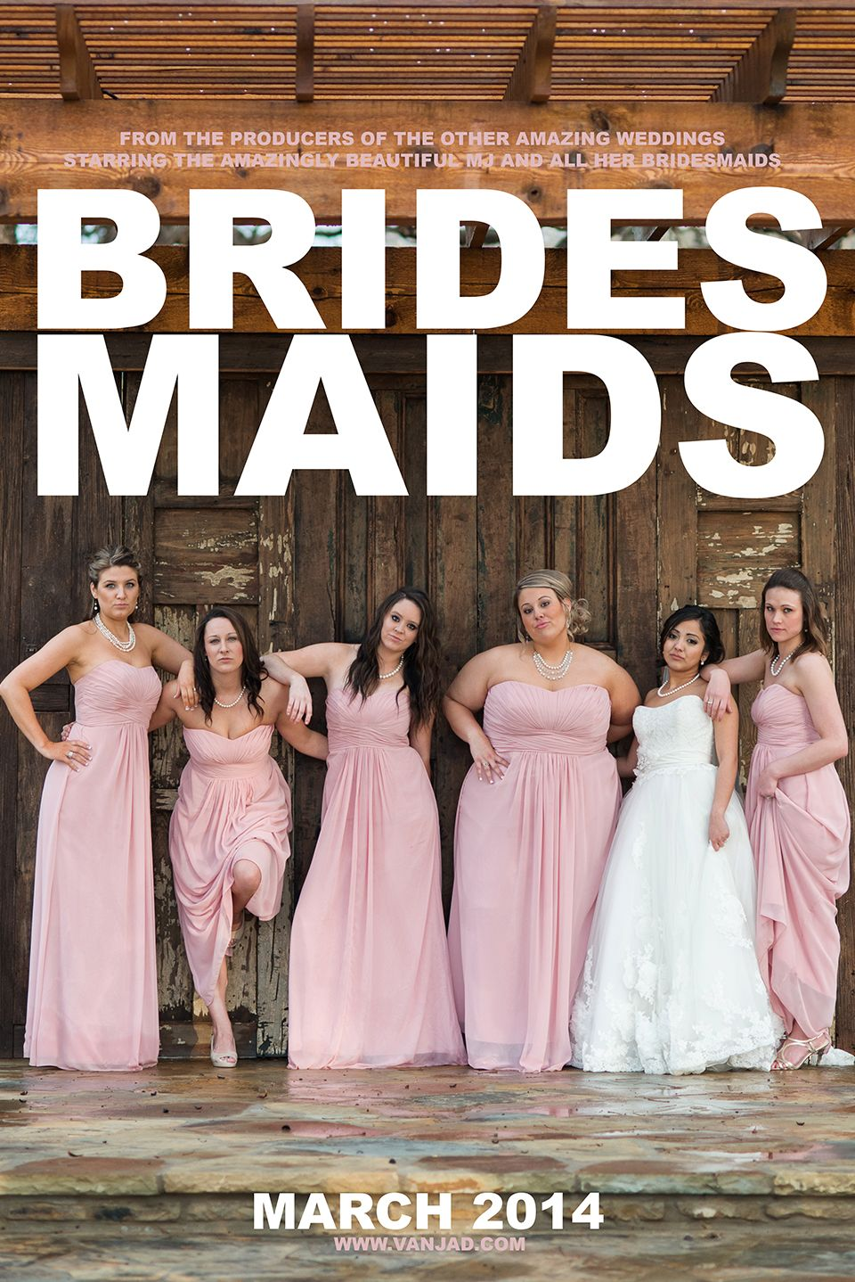 The n at hardway ranch wedding the bridesmaids movie poster www the n at hardway ranch wedding the bridesmaids movie poster vanjad ombrellifo Images