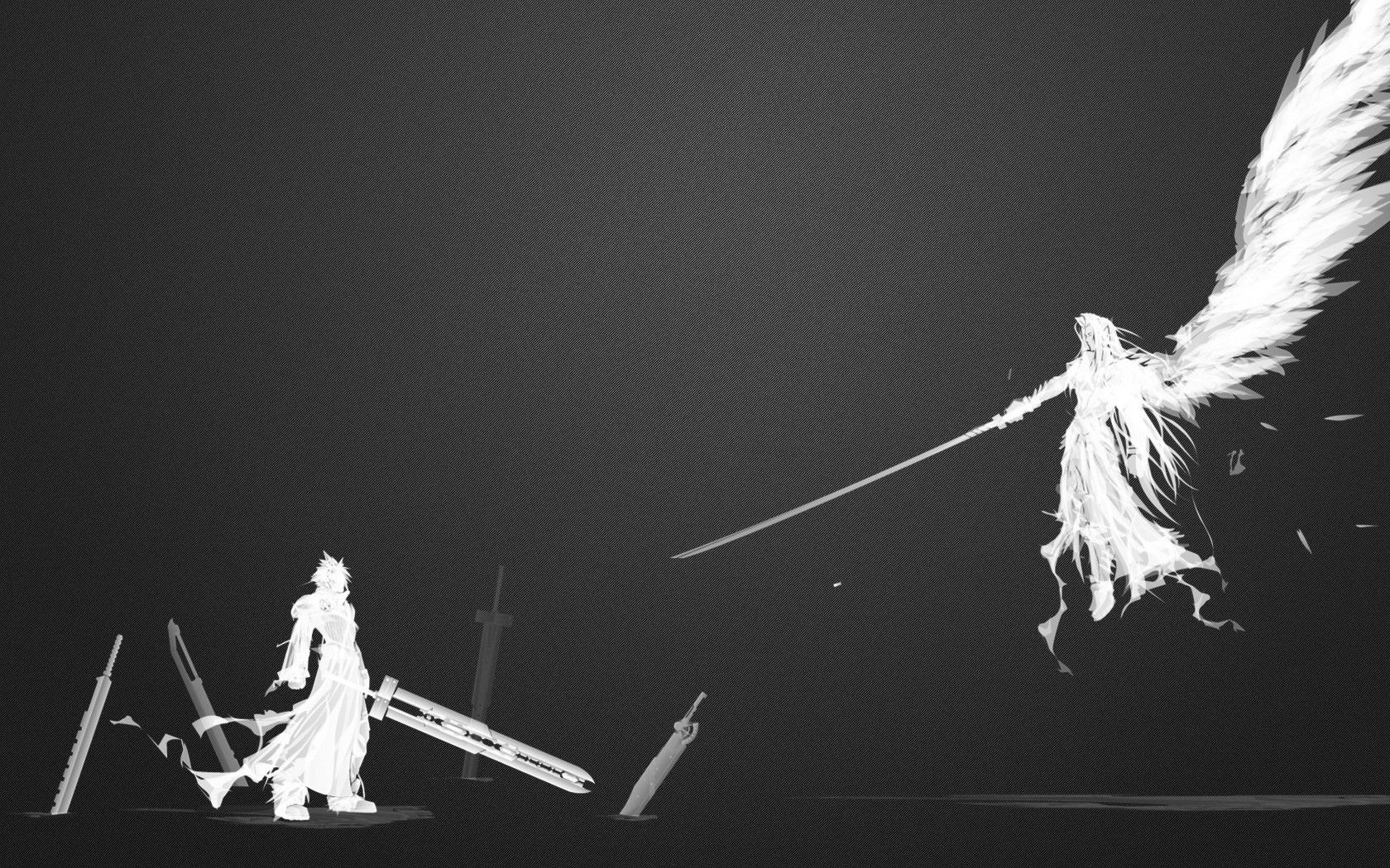 Image Result For Fantasy Art Minimalist Final Fantasy Cloud