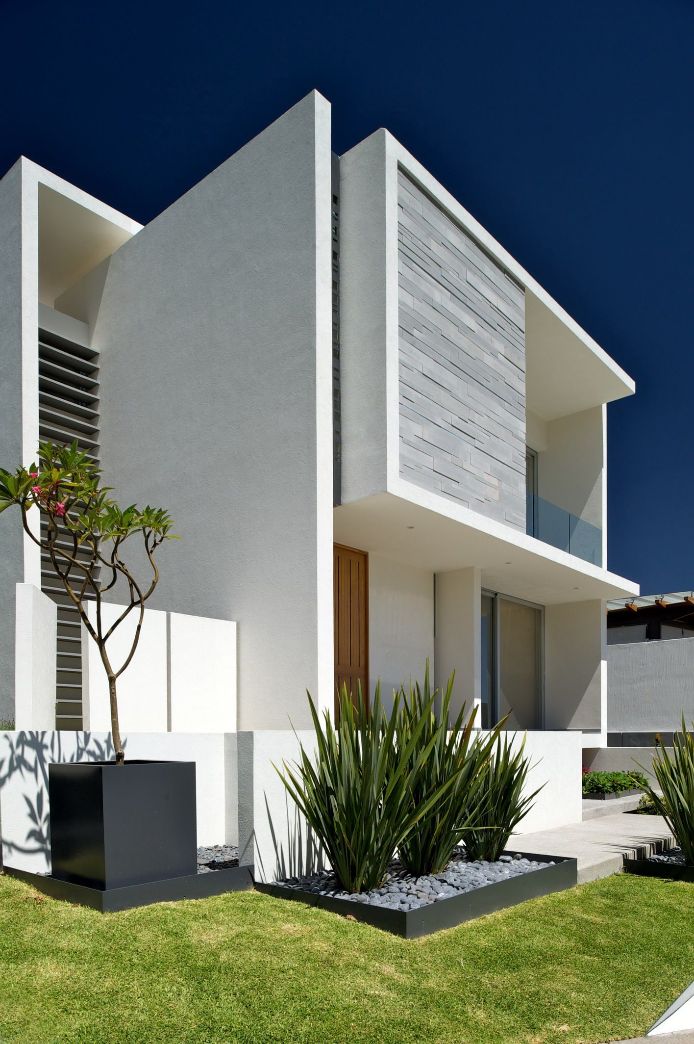 Flachdachhaus Modern Single Family House Guadalajara México House Pinterest
