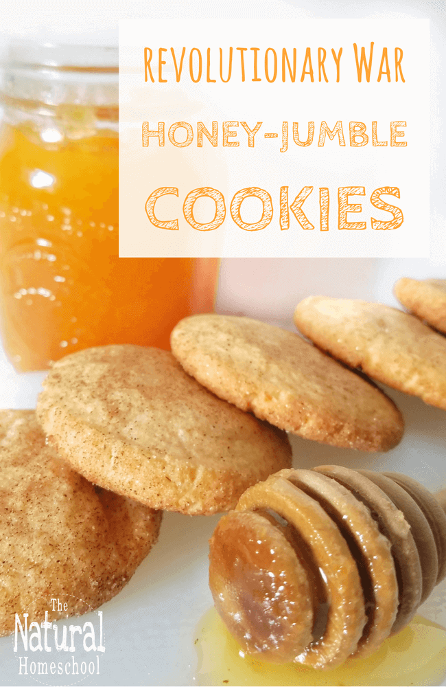 Recipes from revolutionary war for children honey jumble cookies the american revolution was a time when the american colonists rebelled against the rule of the british crown but how can you make the revolutionary war forumfinder Choice Image