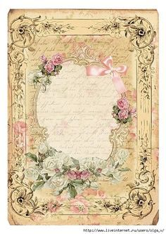 Canny image within free printable vintage stationary