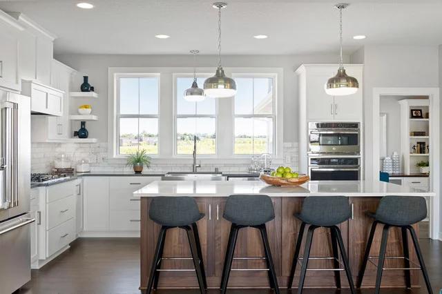 Strand 2019 Lakeville Mn Transitional Kitchen Minneapolis By Robert Thomas Homes Kitchen Inspirations Kitchen Pantry Cabinets Kitchen Design