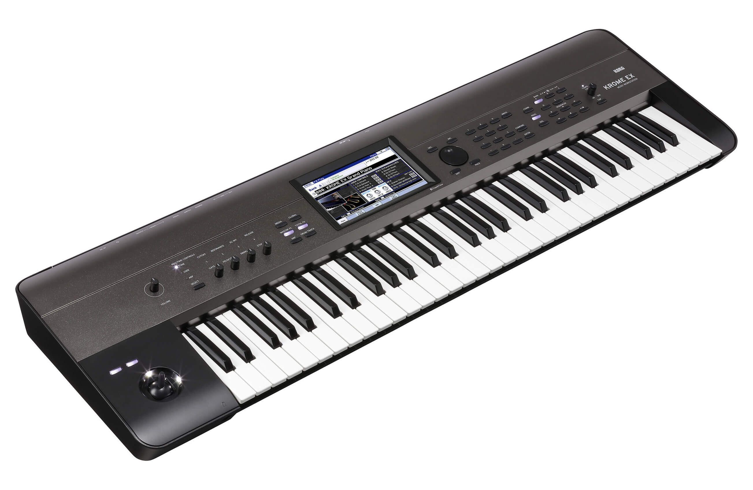 82e37d87311 Buy Korg Krome EX-61 Music Workstation Keyboard Synthesizer online at an  Affordable price in