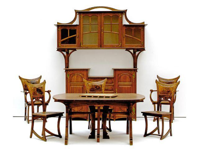 Epingle Sur Art Nouveau Furniture
