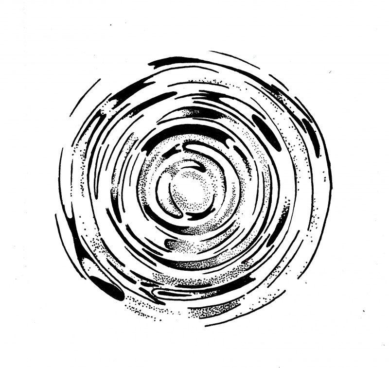 ripple patronen stempelen