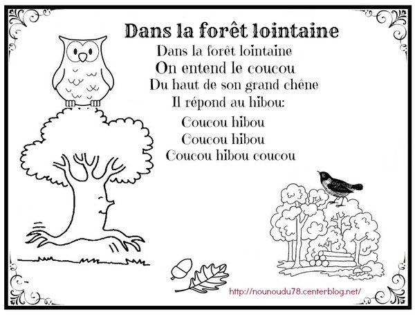 Dans La Forêt Lointaine Illustrée Dans La Foret Lointaine