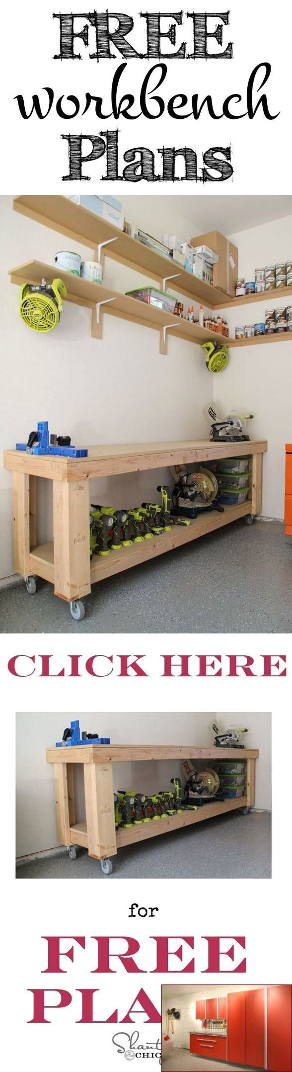 Xtreme Garage Storage Cabinet And Pics Of Garage Organization Cincinnati Garagestorage Diygaragestorage Workbench Plans Diy Workbench Woodworking Projects