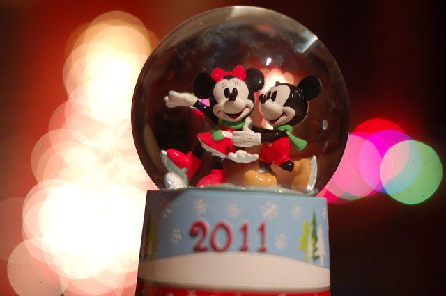 Mickey and Minnie Snow Globe
