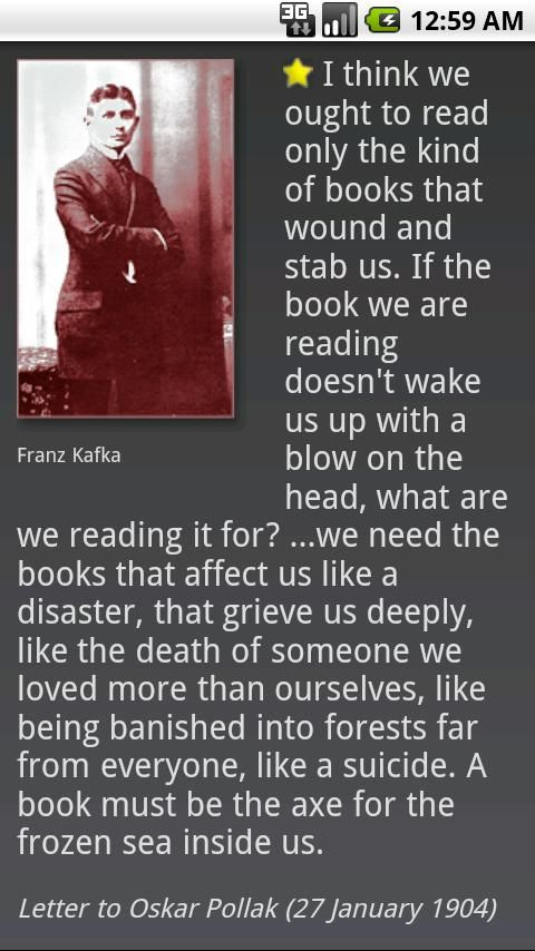 Pin By Brian Rice On Life Long Learning Kafka Quotes Book