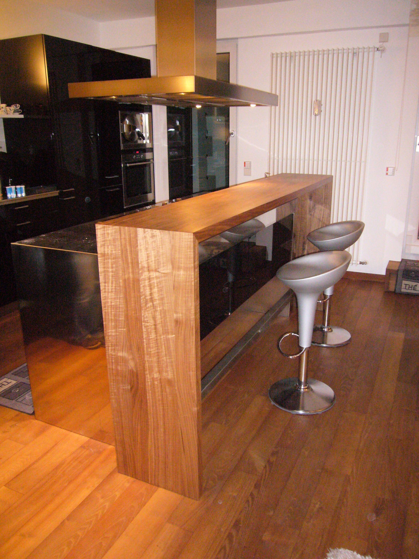 Küchentresen küchentresen in nußbaum для салона interiors
