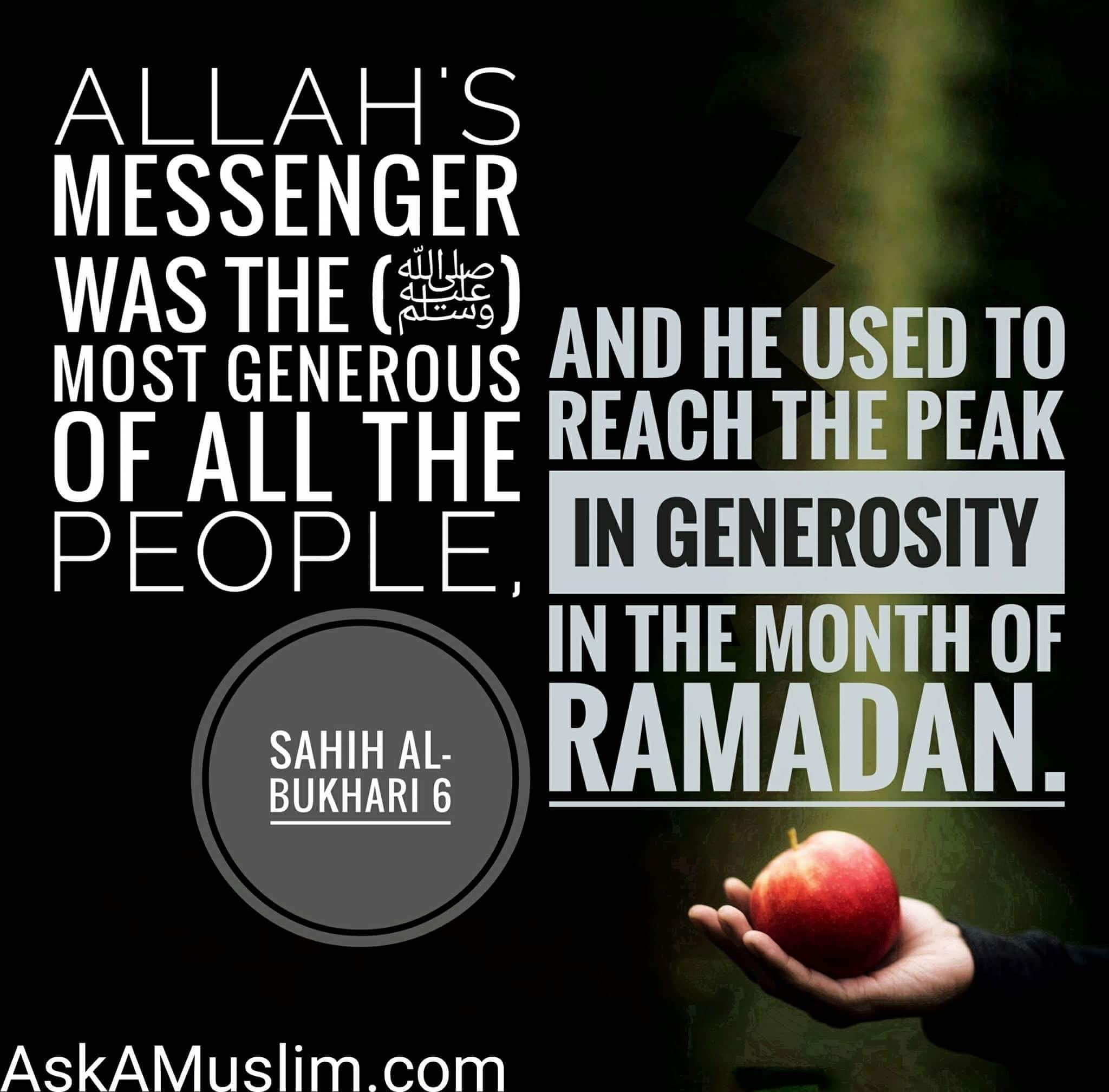Become More Generous In Ramadan And Give In Charity Ramadan Quotes Quran Quotes Generous Quotes