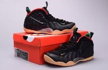 """9c2d5633e00 Girls Nike Air Foamposite Pro GS """"Gucci"""" Black Gorge Green-Gym Red ..."""